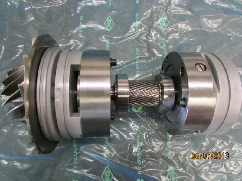 Low Speed Rotor Repair